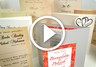 wedding cards video